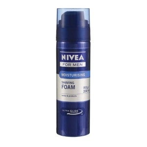 NIVEA For Men Moisturising Shaving Foam 200ml