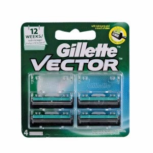 Gillette Vector Cartridges 4s
