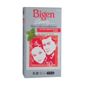 Bigen Speedy Hair Color Conditioner 865 Reddish Brown
