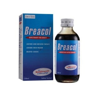 Breacol Cough Syrup for Adults 120ml