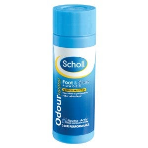 Scholl Odor Control Foot and Shoe Powder 75g