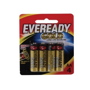 Eveready Gold AA 4s