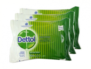 Dettol Anti-Bacterial Wet Wipes 10sx3