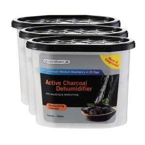 Guardian Dehumidifier Charcoal 3x720g