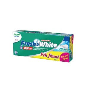 Fresh & White Fresh Cool Mint Toothpaste 225g Pack Of 2