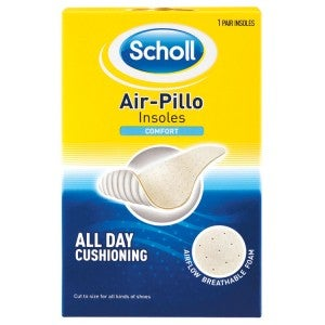 Scholl Airpillo Insoles Comfort