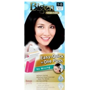 Bigen Cream Color 1-0 (Natural Black)