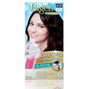 Bigen Cream Color 4-0 (Dark Brown)