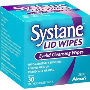 Alcon Systane Eyelid Cleansing Wipes 30's