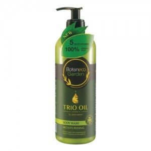 Botaneco Garden Trio Oil Body Wash Moisturizing 500ml