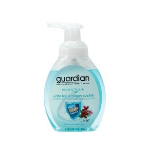 Guardian Protect + Clean White Tea & Honeysuckle Antibacterial Foam Hand Wash 250ml