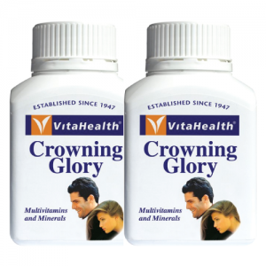 VitaHealth Crowning Glory 90s Pack Of 2