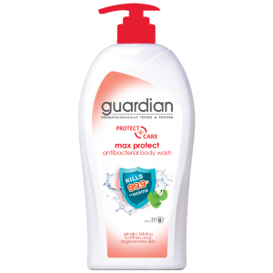 Guardian Max Protect Anti-Bacterial Body Wash 1000ml