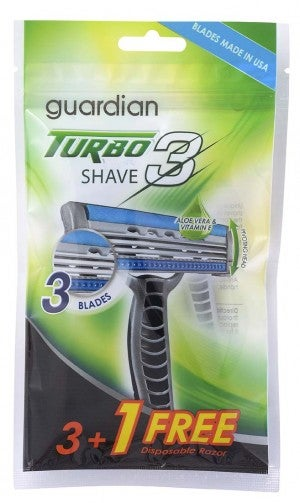 Guardian Turbo Shave 3 (3+1's)