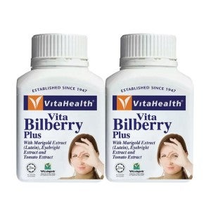 Vitahealth Bilberry Plus 60's Pack Of 2