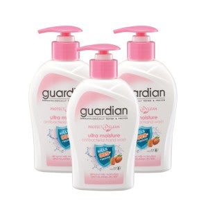 Guardian Protect Care Antibacterial Ultra Moist Hand Wash 250ml -Pack Of 3