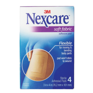 3M Nexcare Soft Cloth Dressing 4's