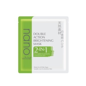 Nano White Double Action Brightening Mask 22ml