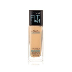 Maybelline Fit Me Matte + Poreless Foundation 125 Nude Beige