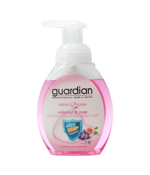 Guardian Protect + Clean Valerian & Rose Antibacterial Foam Hand Wash 250ml