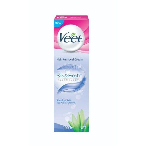 Veet Hair Removal Cream Sensitive Skin 100g Skin Care