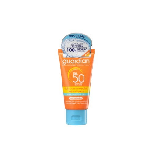 official store authentic top design Guardian Daily Sun Face Cream SPF50