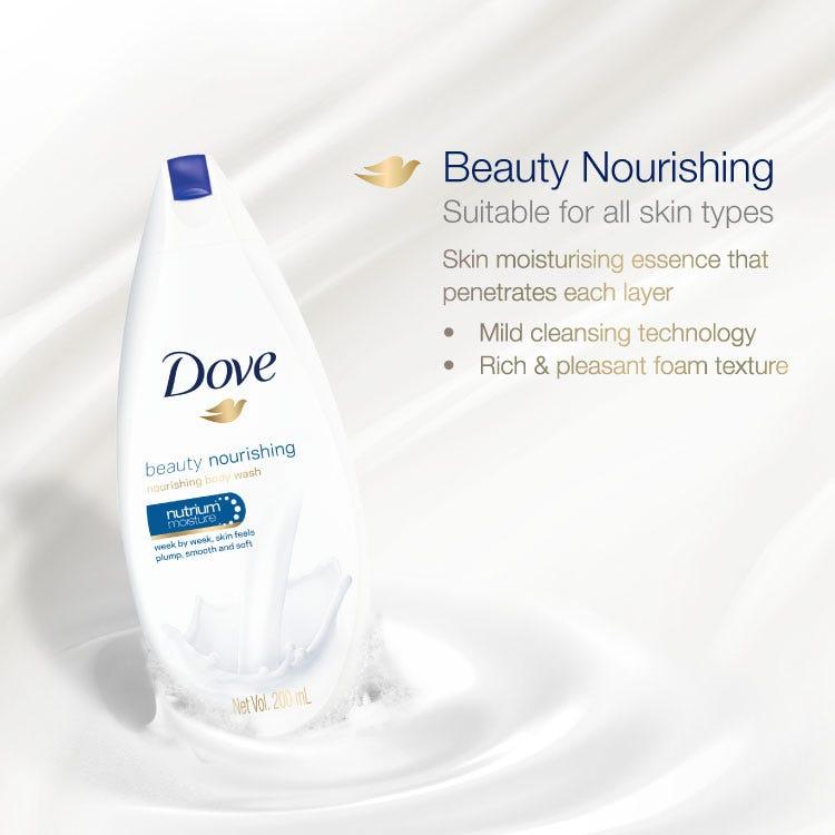 Dove Beauty Nourishing Body Wash 200ml - Dove - Partner Brand
